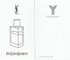 Yves Saint Laurent      Dernier Parfum D'YSL **Y** R/V - Modern (from 1961)
