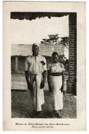 Mission Du Shiré (Afrique) Des Pères Montfortains - Deux Jeunes Mariés - 2 Scans - Malawi
