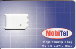 CAMBODIA - MobiTel GSM, Used - Kambodscha