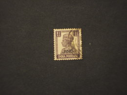 JIND - 1942/3   RE 11 1/2.- TIMBRATO/USED - Jhind