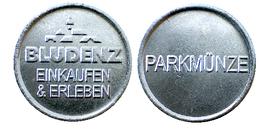 01614 GETTONE JETON TOKEN PARCHEGGIO PARKING PARKMUNZE BLUDENZ EINKAUFEN & ERLEBEN - USA