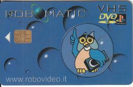 GREECE - Robovideo, Video Club, Member Card, Chip Siemens 35, Used - Unclassified