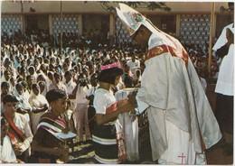 Bishop's Ordination, People's Offering, Diocese Of Dibrugarh, Bishop's House, Assam-India, Unused Postcard [21291] - India