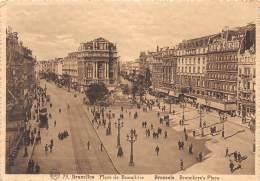 CPM - BRUXELLES - Place De Brouckère - Marktpleinen, Pleinen