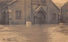 TILLEUR - Inondations 1925 - 1926 - L'Eglise - De Kerk - Saint-Nicolas