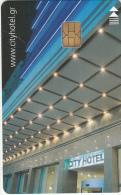 GREECE(chip) - City, Hotel Keycard, Used - Hotel Keycards