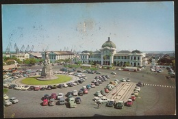 Postal Moçambique Portugal - Lourenço Marques - Praça MacMahon Estação Caminhos Ferro - Railway Station - CPA - Postcard - Mozambique