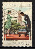BARBADOS - 1977 - 25th Anniv. Of The Reign Of Queen Elizabeth II - USATO - Barbados (1966-...)