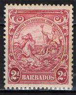 BARBADOS - 1938 - SIGILLO DELLA COLONIA - MNH - Barbados (...-1966)