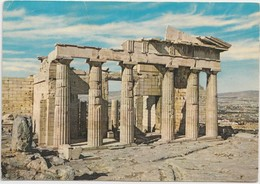 Greece, Athens, The Propylaea, Used Postcard [21299] - Greece