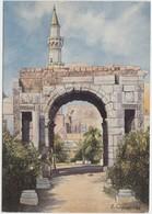 Tripoli, Libya, The Marble Arch, 1983 Unused Postcard [21303] - Libya