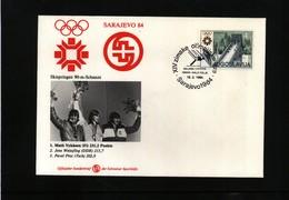 Yugoslavia 1984 Olympic Games In Sarajevo Ski Jumping Medals - Winter 1984: Sarajevo