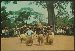 Postal Guiné Portugal - Guiné Portuguesa - Dança Do Pau Dos Balantas - CPA - Postcard - Guinea-Bissau
