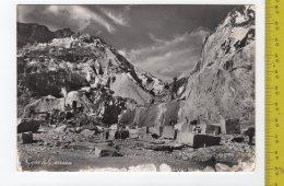 1961 CARRARA Cave Di Marmo FG V  SEE 2 SCANS Animata Minatori - Carrara