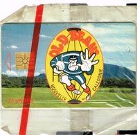 Nouvelle Caledonie Telecarte Phonecard Privee Old Beans Rugby Sport Noumea NC 26A Cote 40 NSB Us Courant - Nouvelle-Calédonie