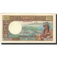 Billet, Tahiti, 100 Francs, 1969, KM:23, SUP - Papeete (Polynésie Française 1914-1985)