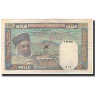 Billet, Algeria, 100 Francs, 1940-10-09, KM:85, TTB+ - Algeria