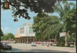 Postal Angola Portugal - Lobito - Mercado Municipal E Centro Comercial - CPA - Postcard - Angola