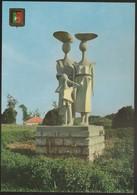 """Postal Angola Portugal - Lobito - Grupo Escultórico """"Caminhando"""" - CPA - Postcard - Angola"""