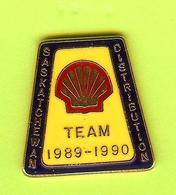Pin's Carburants Shell Team 1989 - 1990 Saskatchewan Distribution RARE - 1N16 - Fuels