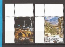 2018  EUROPA CEPT  PONTI BRUECKEN KOSOVO MNH - Kosovo