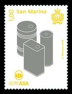 San Marino 2018 Mih. 2750 Metal Packaging Containers Of ASA Group MNH ** - San Marino