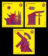 San Marino 2018 Mih. 2759/61 Europa-China Tourism Year MNH ** - San Marino