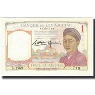 Billet, FRENCH INDO-CHINA, 1 Piastre, 1936, KM:54b, NEUF - Indochine
