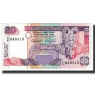 Billet, Sri Lanka, 20 Rupees, 1995-11-15, KM:109a, SPL - Sri Lanka