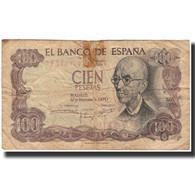 Billet, Espagne, 100 Pesetas, 1970-11-17, KM:152a, B - 100 Pesetas