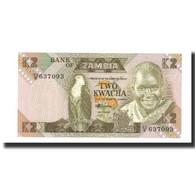 Billet, Zambie, 2 Kwacha, 1980, KM:24c, NEUF - Zambie