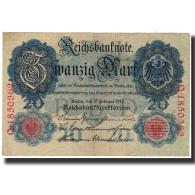 Billet, Allemagne, 20 Mark, 1914-02-19, KM:46b, TTB - [ 2] 1871-1918 : Empire Allemand