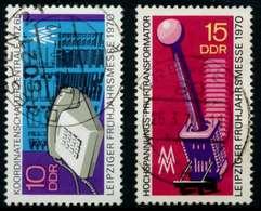 DDR 1970 Nr 1551-1552 Gestempelt X948266 - Usados