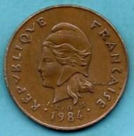 (r65)  NEW CALEDONIA 100 Francs 1984 NOUVELLE CALEDONIE - New Caledonia