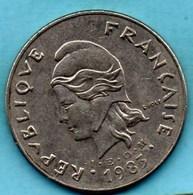 (r65)  NEW CALEDONIA 50 Francs 1983   NOUVELLE CALEDONIE - New Caledonia