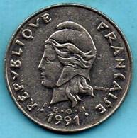 (r65)  NEW CALEDONIA 50 Francs 1991   NOUVELLE CALEDONIE - New Caledonia