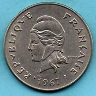 (r65)  NEW CALEDONIA 50 Francs 1967   NOUVELLE CALEDONIE - New Caledonia