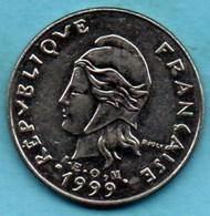 (r65)  NEW CALEDONIA  20 Francs 1999   NOUVELLE CALEDONIE - New Caledonia
