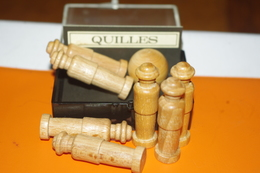 JEU MINIATURE LES QUILLES En BOIS / MARC VIDAL FRANCE - Group Games, Parlour Games