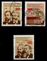 DDR 1975 Nr 2050-2052 Gestempelt X69986A - Usados