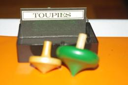 JEU MINIATURE LES TOUPIES En BOIS / MARC VIDAL FRANCE - Group Games, Parlour Games