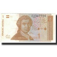 Billet, Croatie, 1 Dinar, 1991-10-08, KM:16a, SUP - Croatie