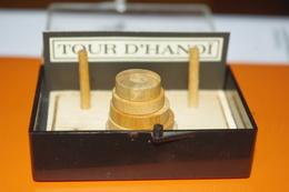 JEU MINIATURE LA TOUR D'HANOI En BOIS / MARC VIDAL FRANCE - Jeux De Société