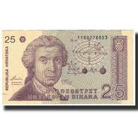 Billet, Croatie, 25 Dinara, 1991-10-08, KM:19b, SUP - Croatia