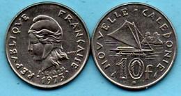 (r65)  NEW CALEDONIA  10 Francs 1973   NOUVELLE CALEDONIE - New Caledonia