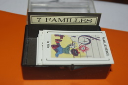 JEU MINIATURE LES 7 FAMILLES / MARC VIDAL FRANCE - Jeux De Société
