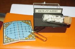 JEU MINIATURE LE SOLITAIRE / MARC VIDAL FRANCE - Group Games, Parlour Games