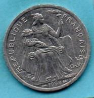 (r65)  NEW CALEDONIA  2 Francs 1998   NOUVELLE CALEDONIE - New Caledonia