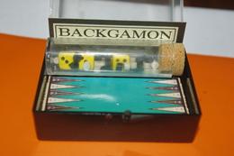 JEU MINIATURE LE BACKGAMON / MARC VIDAL FRANCE - Group Games, Parlour Games