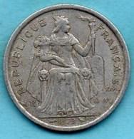 (r65)  NEW CALEDONIA  2 Francs 1973   NOUVELLE CALEDONIE - New Caledonia